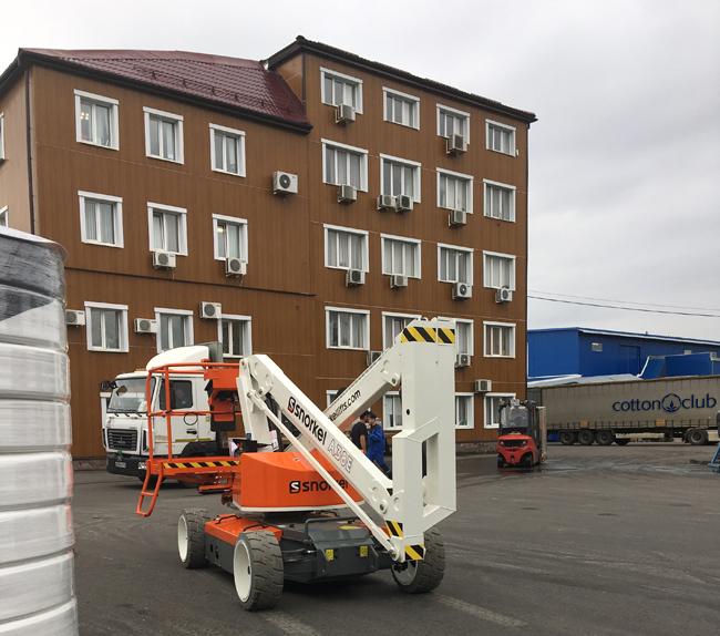 Коленчатый подъемник купить Snorkel A38E