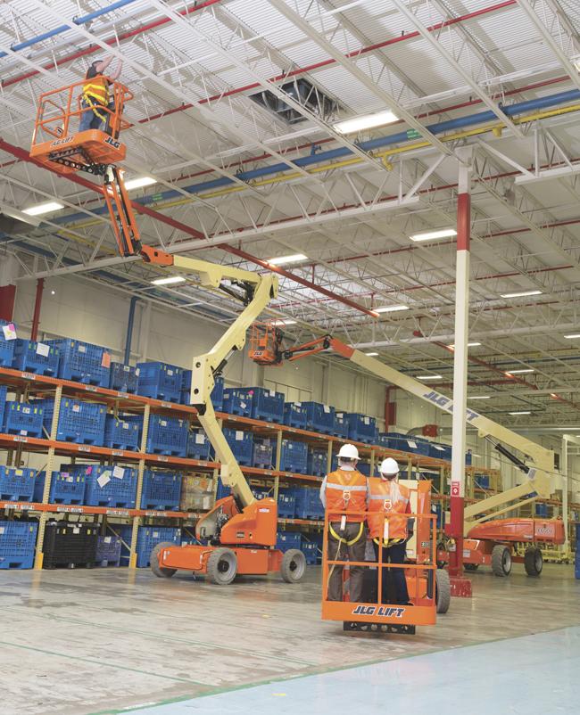 Работа JLG 16 м подъемник электрический