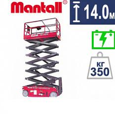 Купить ножничный подъемник Mantall XE 140W