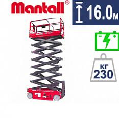 Купить ножничный подъемник Mantall XE 160W
