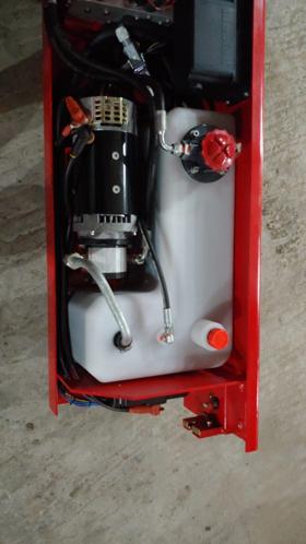 Гидростанция ножничного подъемника
