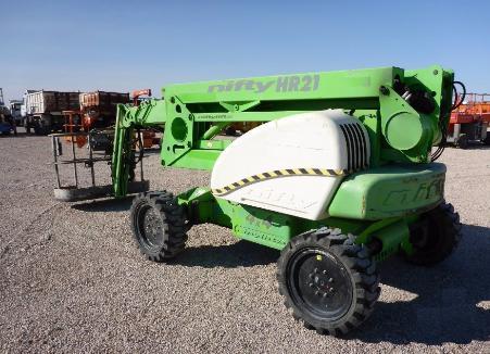 Продажа коленчатого подъемника бу Niftylift HR 21D