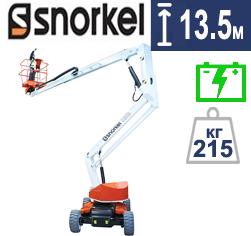 Коленчатый электрический подъемник Snorkel A38