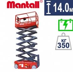 Самоходный ножничный подъёмник Mantall XE 140W