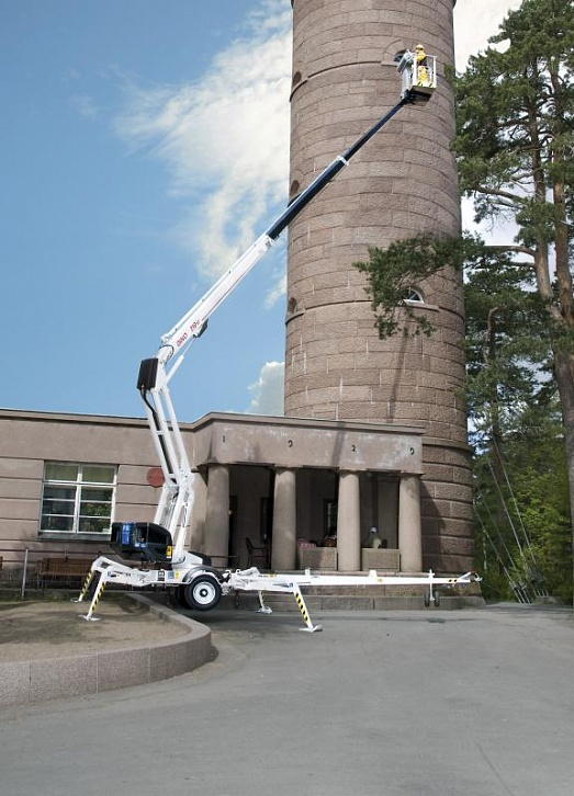 Телескопический подъёмник в аренду