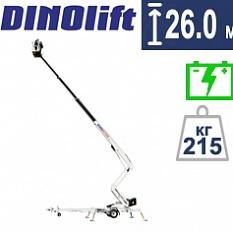 Купить прицепной коленчатый подъемник DINO 260XTD